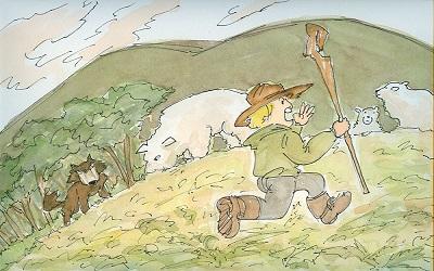 양치기소년과늑대2